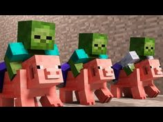 Pig Racing - A Minecraft Animation