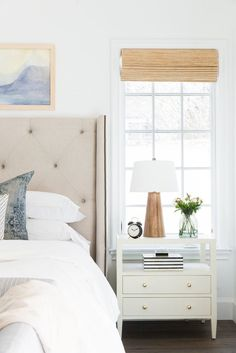 A California Cool, Laid-Back Master Suite Bedroom | Before & After - pinned by www.youngandmerri.com