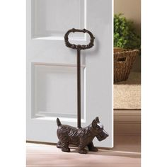 Doggy Door Stopper With Handle New $ 24.99 #homedécor #gift #doorstopper. This little doggy will be such a great way to hold one of your doors in your home.