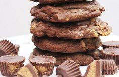Recette facile de biscuits au chocolat, beurre d'arachides et Reese