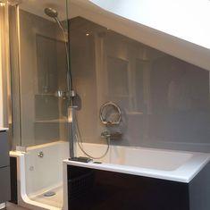 TWINLINE Duschbadewanne In Der Dachschräge   Es Ist Auch Möglich Die Tür  Abzuschrägen! Www.