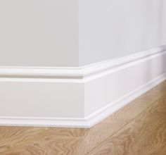 NO MORE THAN 15cm high // Quick-Step Paintable Skirting - Torus - QSISKRTORUSMD240 - Best@Flooring