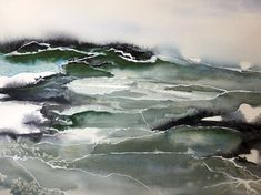 Manon Jodoin is a Benicia-based, mixed media and watercolor artist and a surface pattern designer. Look at her poetical and atmospheric paintings and prints. Watercolor Artists, Surface Pattern Design, Watercolors, Studio, Paper, Green, Prints, Painting, Outdoor