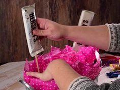 Cómo hacer un candy bouquet