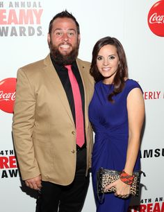 Internet personalities Shay Carl Butler (L) and Colette Butler attend the 4th Annual Streamy Awards presented by Coca-Cola on September 7, 2014 in Beverly Hills, California.