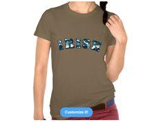 Irish Urban Camo, Style is Women's American Apparel Fine Jersey Short Sleeve T-Shirt, color is Army Irish Design, Jersey Shorts, American Apparel, Camo, Urban, Sleeve, Mens Tops, T Shirt, Style