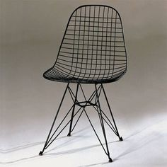 DKR (Dining Hight, K-Wire Shell, R-Wire Base/Rod iron Base) Charles und Ray Eames 1951