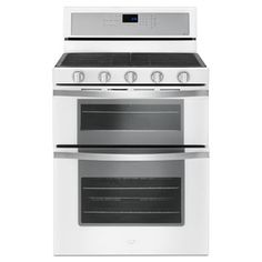 Kitchenaid 6 0 Cu Ft Double Oven Gas Range With Self
