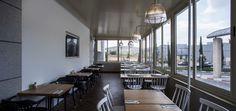 Michalis' bakery café by Studio Yaron Tal   lighting design by Studio Beam,  Modiin – Israel pendant cafe bakery