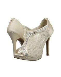 These shoes plus a turquoise pedicure for the wedding day? The Knot - Knottie86747214's Favorites Board