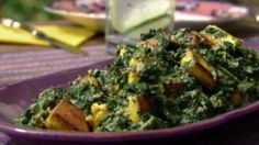 Get this all-star, easy-to-follow Saag Paneer: Spinach with Indian Cheese recipe from Aarti Sequeira