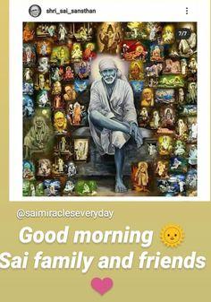 Sai Baba Pictures, Good Morning, Baseball Cards, Buen Dia, Bonjour, Bom Dia, Buongiorno