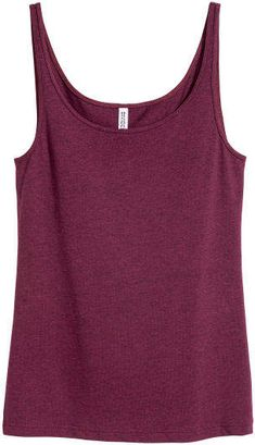 Shop online for affordable women's tops at H&M, from tanks, t-shirts and camis to dressy going-out tops. Build A Bear Outfits, Sleeveless Tunic Tops, Purple Tank Top, Workout Tank Tops, Character Outfits, Elegant, Black Tops, Clothes For Women, Senior Year