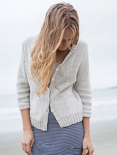 Ravelry: Prickly Poppy cardigan pattern by Emily Nora O'Neil