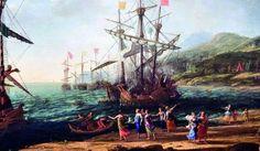 Mulheres troianas queimando seus navios.jpg