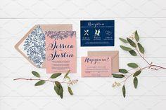 Wedding Suite Mockup - Eucalyptus 8 by Leeloo Land on @creativemarket
