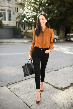 Smart Casual Outfit, Casual Work Outfits, Work Casual, Jean Outfits, Chic Outfits, Jeans Outfit For Work, Summer Work Outfits, Outfit Jeans, Work Attire