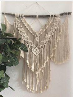 Handmade Wall Hanging, Large Macrame Wall Hanging, Beautiful Wall, Sell On Etsy, Boho Decor, House Warming, Wall Hangings, Gifts, Color