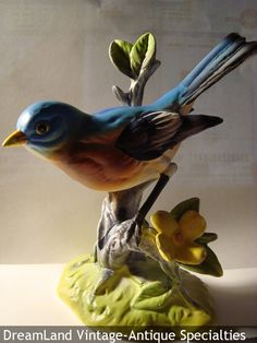 Blue Bird Porcelain