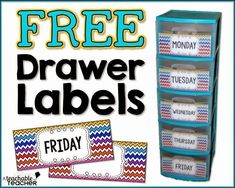 Free Drawer Labels | Teacher supplies on a budget | free teaching supplies | free teacher printables | free labels | teaching tips | tips for teachers | classroom organization ideas | classroom organization elementary | primary classroom setup | getting classroom ready | getting classroom organized | home office organization | file drawer labels for classroom printable