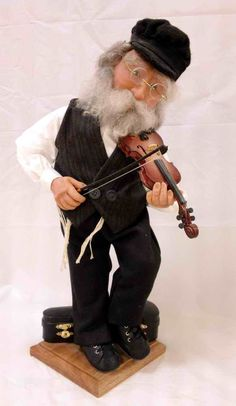 The Fiddler Character Doll