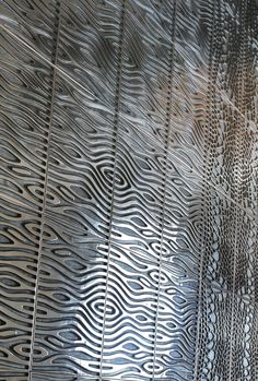 3d pattern, Recycled Cast Aluminium