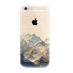 Snow Mountain Nice Scenery Nature iPhone 6s 6 Plus SE 5s 5 Case - Mavasoap