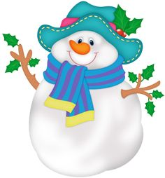 Adorable little snowman