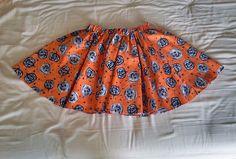 Halloween Mini Circle Skirt from The Atelier Bleu. #vintage #theatelierbleu #halloween #circleskirt #halloweenskirt #vintagefashion #mod #retro #pinup #modfashion #retrofashion #spooky #fun #cute #kawaii