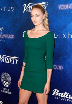 Sophie Turner attends Variety's 'Power of Young Hollywood' Event in Los Angeles (August 16, 2016)