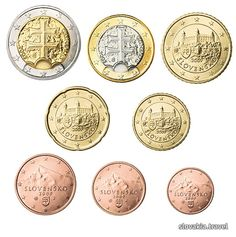 since 2009 has adopted Euro as its currency Old Faces, Money Bank, European Countries, Bratislava, Lonely Planet, We The People, Coins, Czech Republic, Homeland