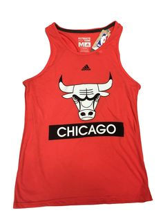 20d29849a Chicago Bulls Loud And Proud Tank Top By Adidas