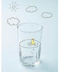 Illo: Glass Half Full | How happy are you―really? If there's room for improvement, try one of these suggestions.