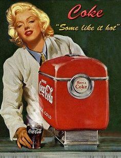 Marilyn Monroe & Coca Cola