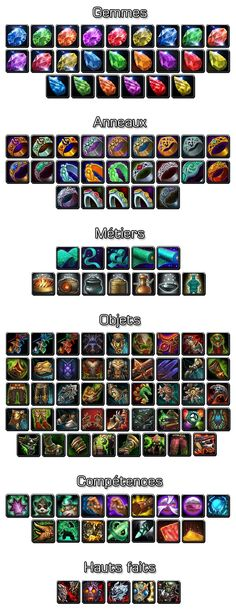 Various WoW:MoP icons 4
