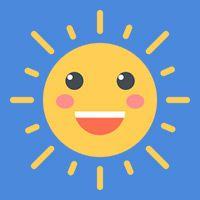 16 Free Cartoon Sun Icons Vector