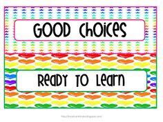 Kindergarten classroom management ideas and clip chart FREEBIES!