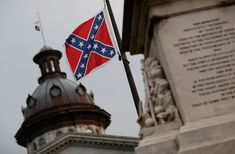 A historical look at the polarizing symbol: the flags of the Confederate States of America.