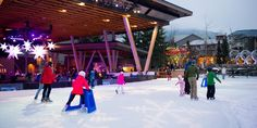 Whistler outdoor ice skating