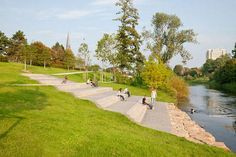 The Best Way to Work With the Land at Riverside Lünen