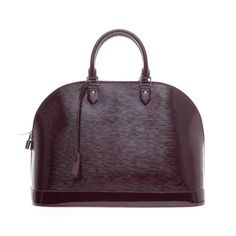 Louis Vuitton Alma Electric Epi Leather GM | From a collection of rare vintage top handle bags at https://www.1stdibs.com/fashion/handbags-purses-bags/top-handle-bags/