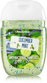 Cucumber Mint PocketBac Sanitizing Hand Gel - Soap/Sanitizer - Bath & Body Works