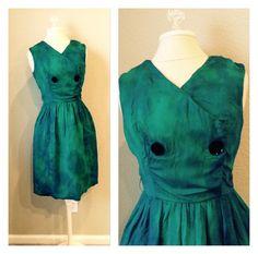 Vintage 60s repurposed tie dye silk dress / by CrystalsCloset74