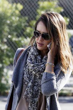 scarves, scarves and scarves...