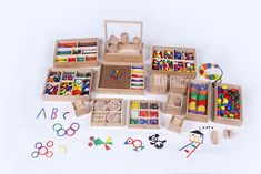 """Bright minds deserve an early start with Froebel Gifts -  the toys that Frank Lloyd Wright attributes much of his genius to, the toys that propelled the modernist movement, they were also the first toys used for educational purposes. Friedrich Froebel was a German pedagogue who created the concept of """"Kindergarten"""" based on his recognition that children have unique skills and capabilities, requiring personalized learning approaches.  Froebel's Kindergarten used play as its engine and…"""