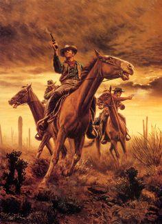 Belles images western art