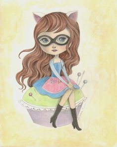 Crafterella guest art by The Art Of Amalia K