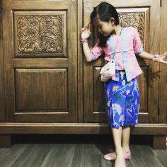 Wear beautiful batik #OOTD
