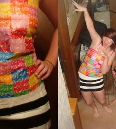 """Coolest Candy """"Wrapper"""" Costume 