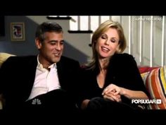 George Clooney gets around